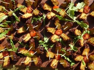 260 x Bhajis minis – boulettes aux oignons et épices de l'Inde